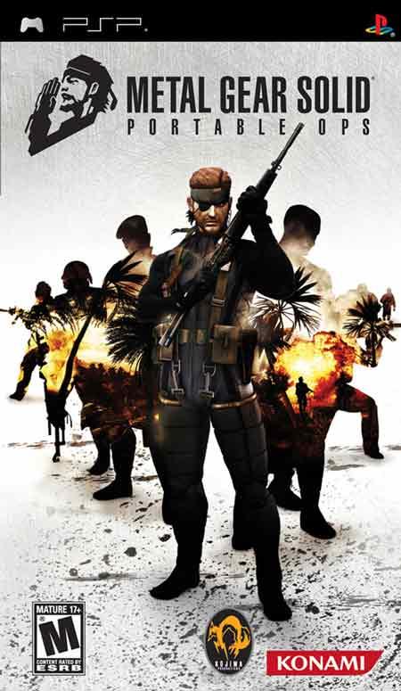 Metal Gear Solid Portable Ops; en español